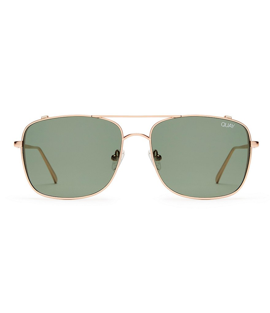 Quay Australia Weekend Warrior Double-Bridge Navigator Sunglasses