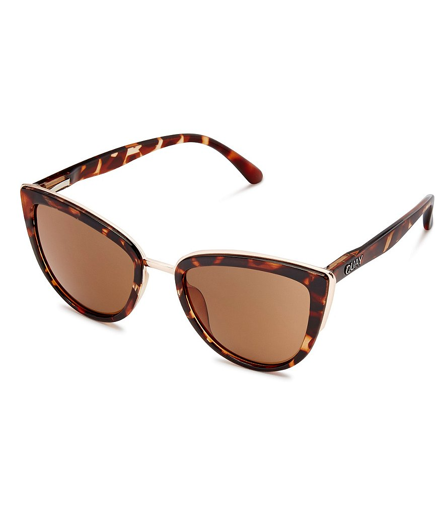 Quay Australia My Girl Oversized Cat-Eye Sunglasses