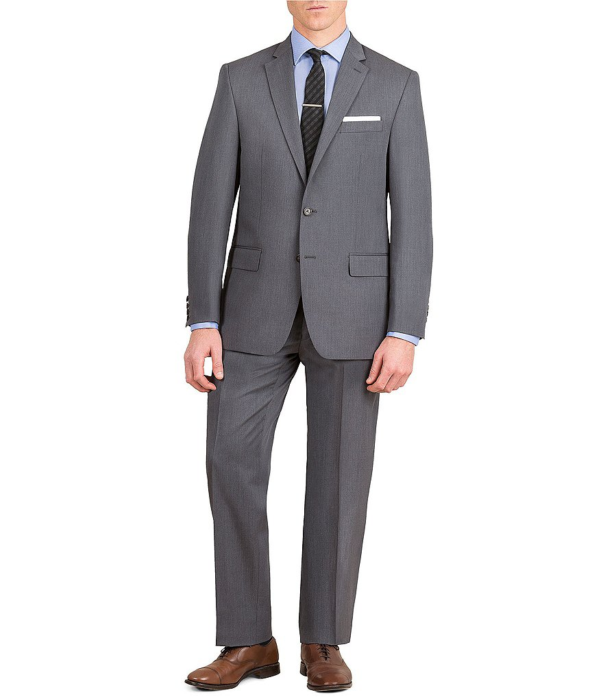 Ralph by Ralph Lauren Classic-Fit Solid Wool Suit