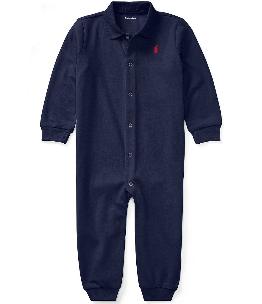 Ralph Lauren Childrenswear Baby Boys Newborn-12 Months Classic Coverall