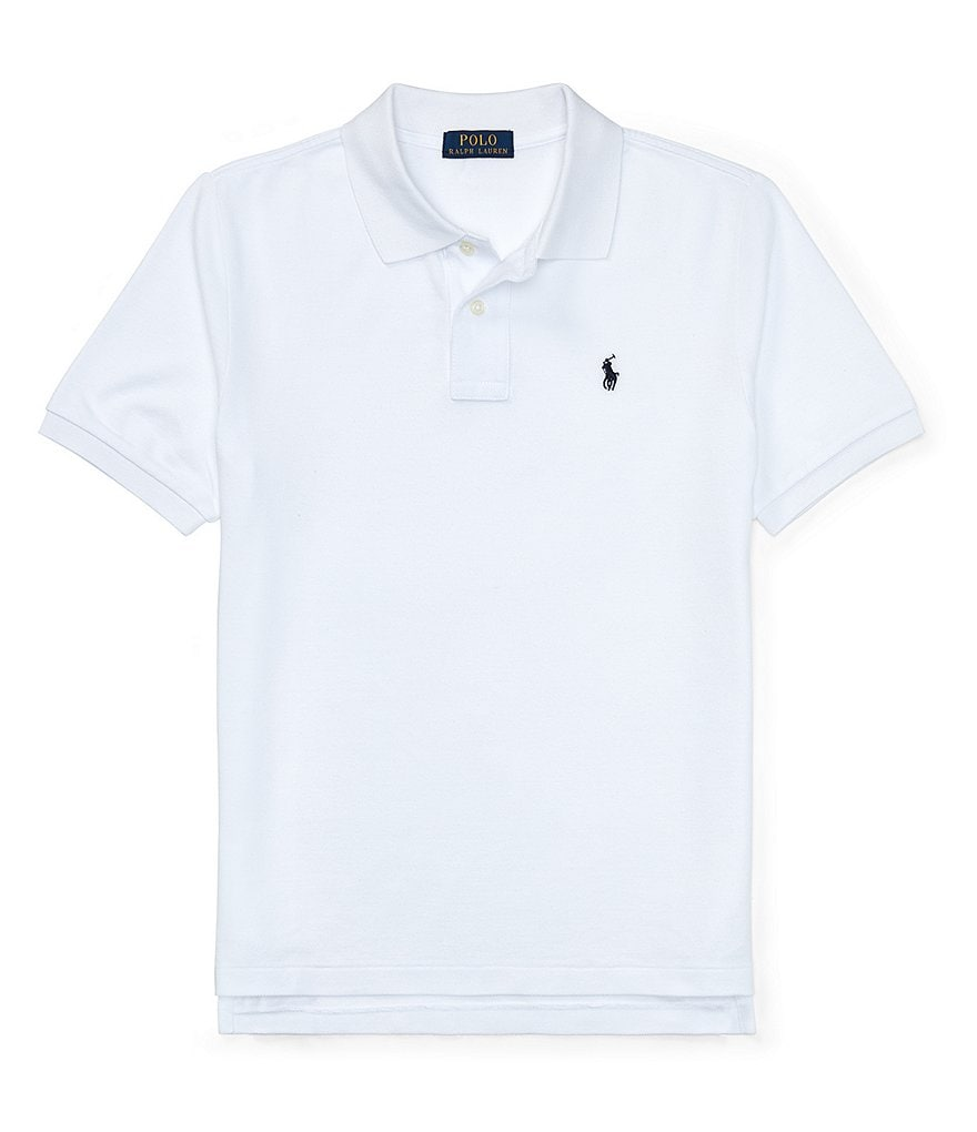 Ralph Lauren Childrenswear Big Boys 8-20 Classic Mesh Polo ...