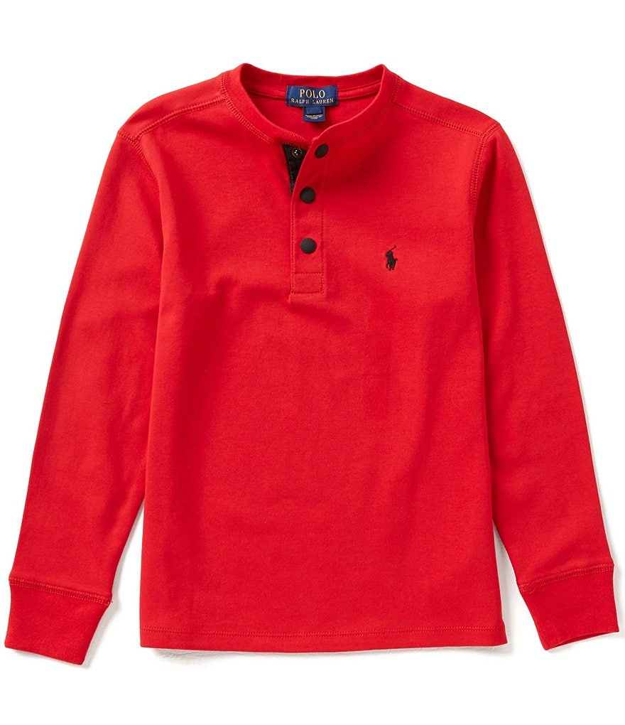 Ralph Lauren Childrenswear Big Boys 8-20 Henley Tee