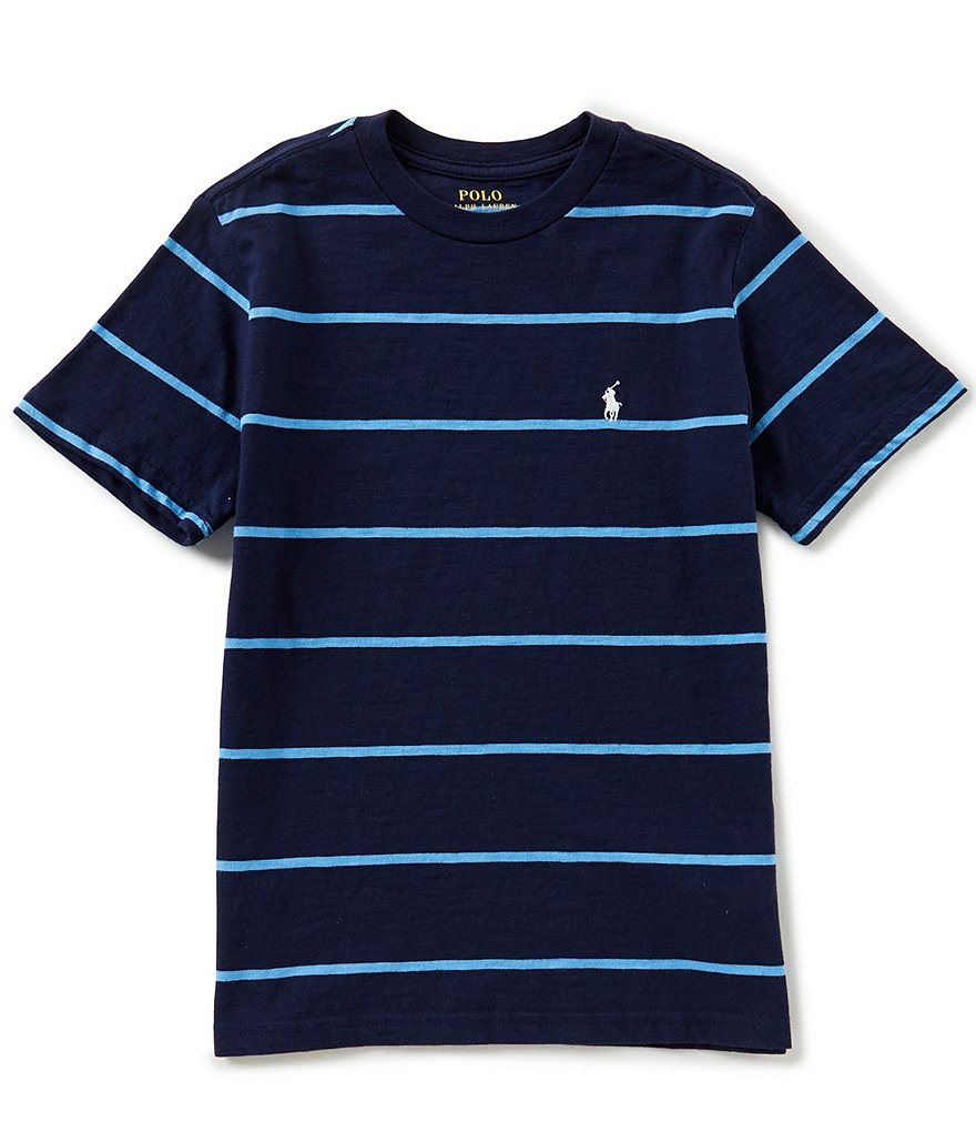 Ralph Lauren Childrenswear Big Boys 8-20 Short-Sleeve Striped Tee