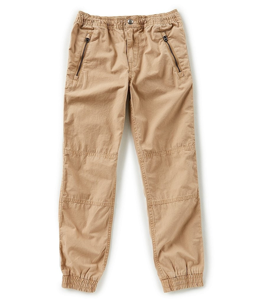 Ralph Lauren Childrenswear Little Boys 2T-7 Poplin Jogger Pants