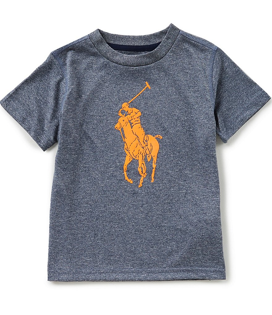 Ralph Lauren Childrenswear Little Boys 2T-7 Short-Sleeve Performance Jersey Tee
