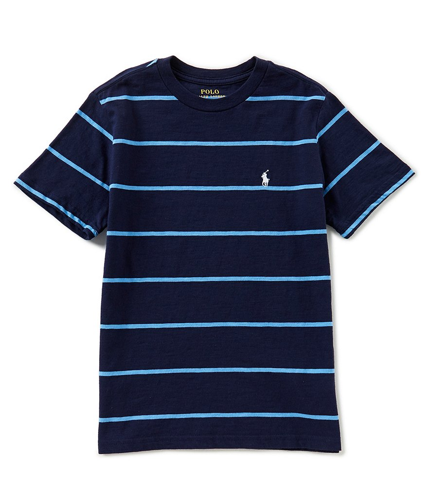 Ralph Lauren Childrenswear Little Boys 2T-7 Short-Sleeve Striped Jersey Tee