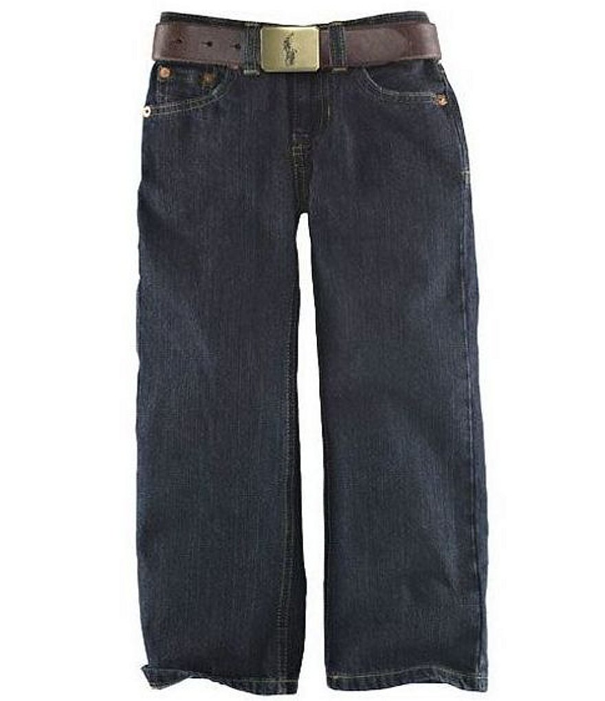 Ralph Lauren Childrenswear Little Boys 2T-7 Slim-Fit Jeans