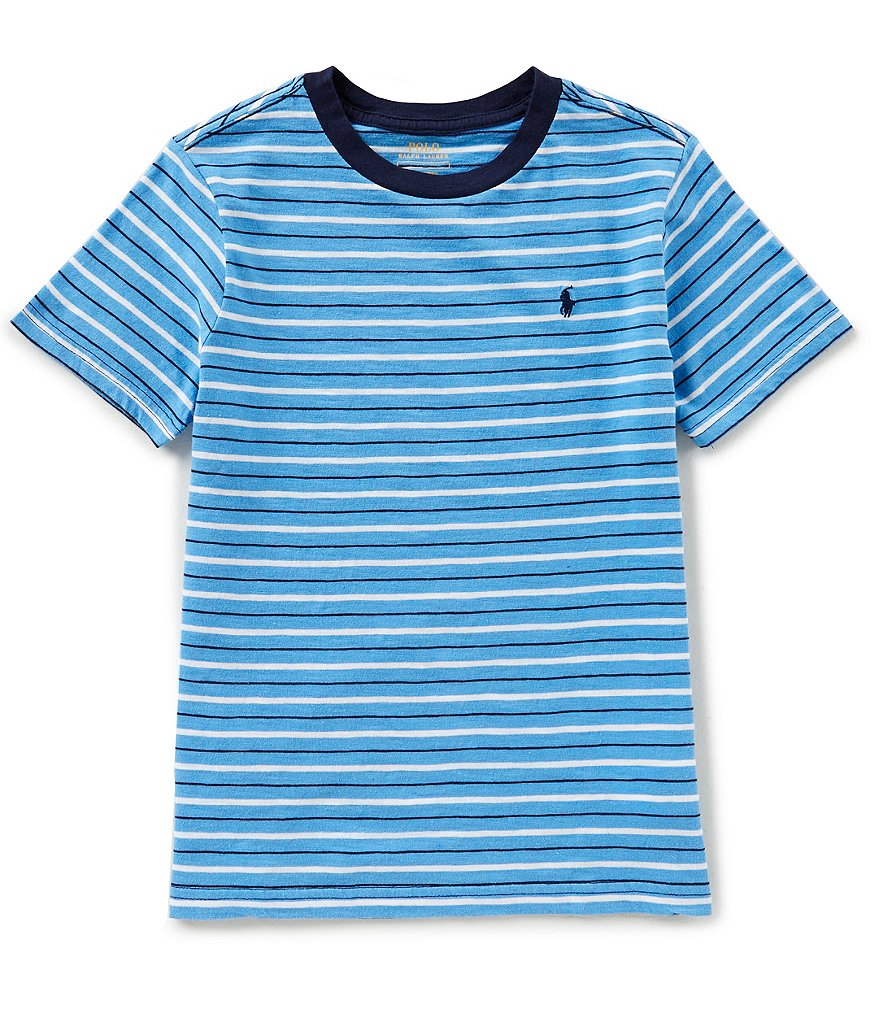 Ralph Lauren Childrenswear Little Boys 5-7 Striped Short-Sleeve Tee