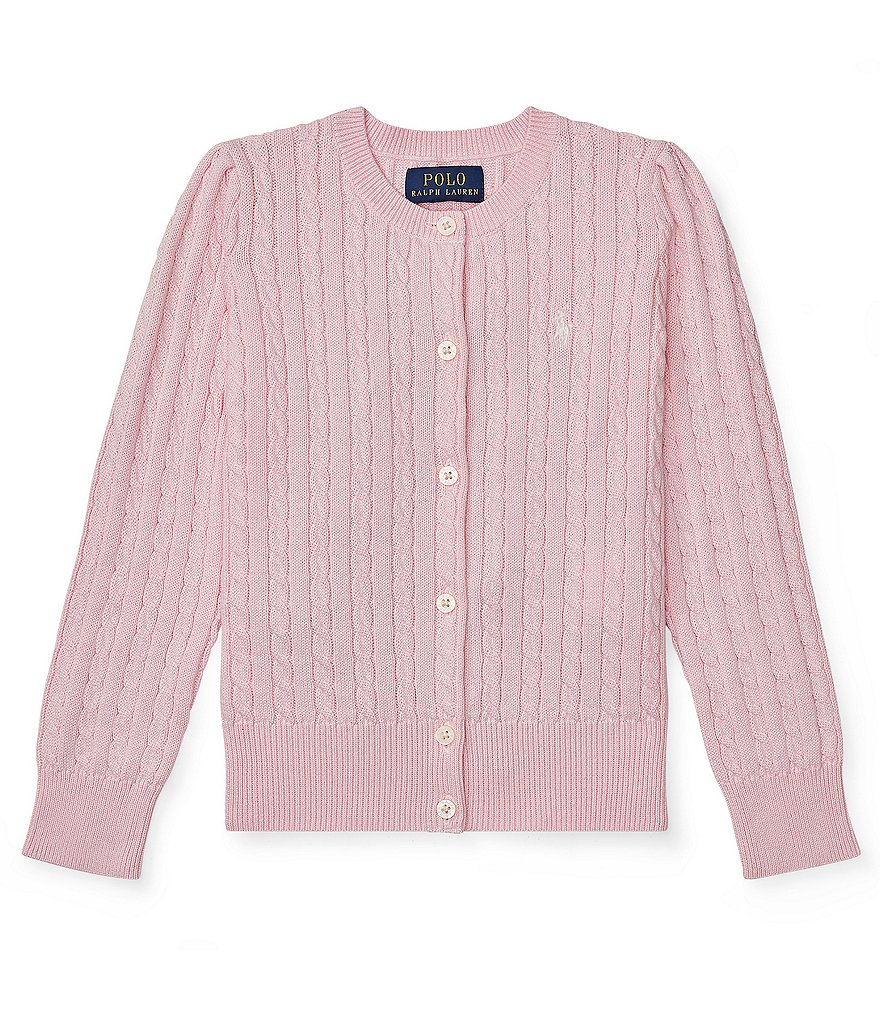 Ralph Lauren Childrenswear Little Girls 2T-6X Cardigan Sweater