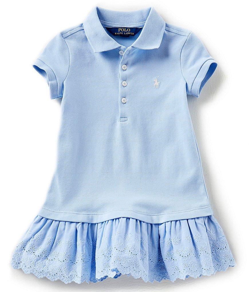 Ralph Lauren Childrenswear Little Girls 2T-6X Drop-Waist Dress