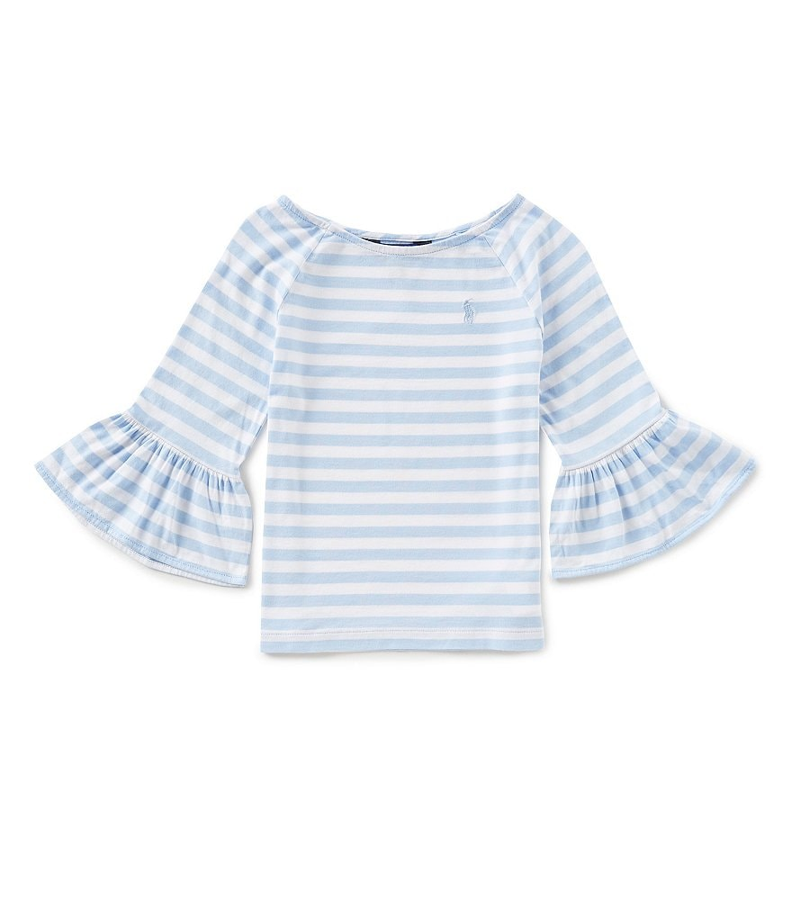 Ralph Lauren Childrenswear Little Girls 2T-6X Striped Jersey Top