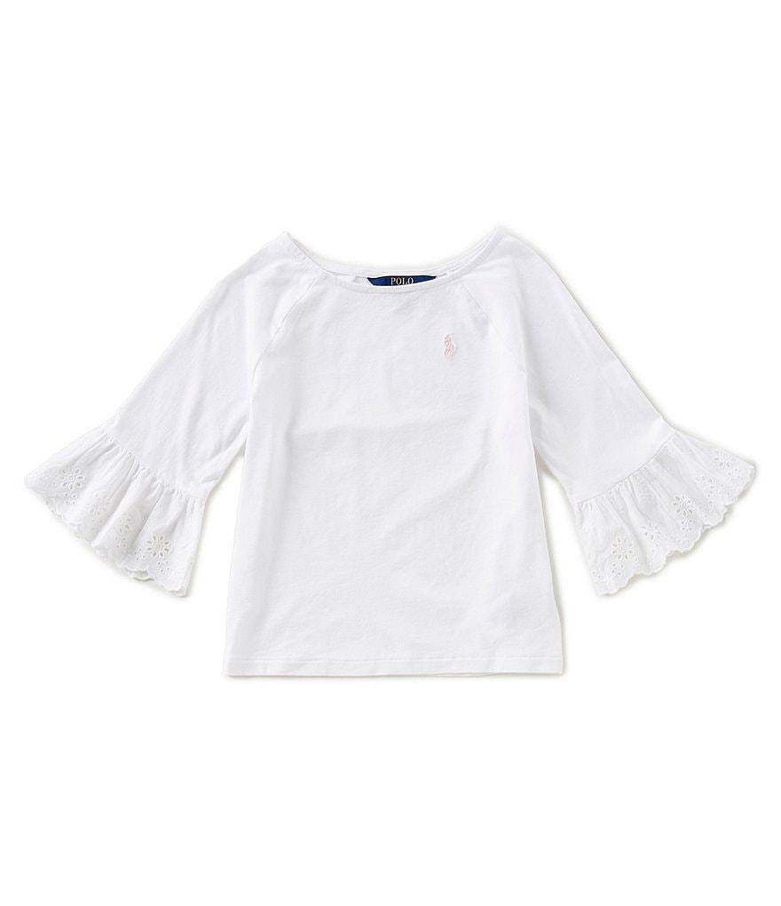 Ralph Lauren ChildrenswearLittle Girls 2T-6X Elbow-Sleeve Top