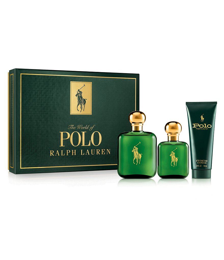 Ralph Lauren Men's Three Piece Polo Gift Set