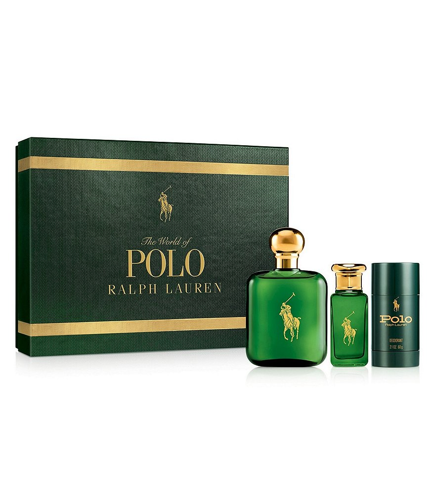 Ralph Lauren Polo Men's 3 Piece Gift Set