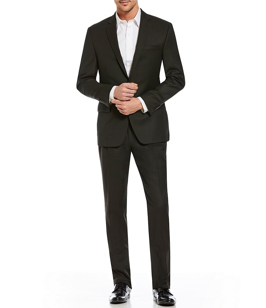 Ralph Ralph Lauren Classic Fit Solid Wool Suit