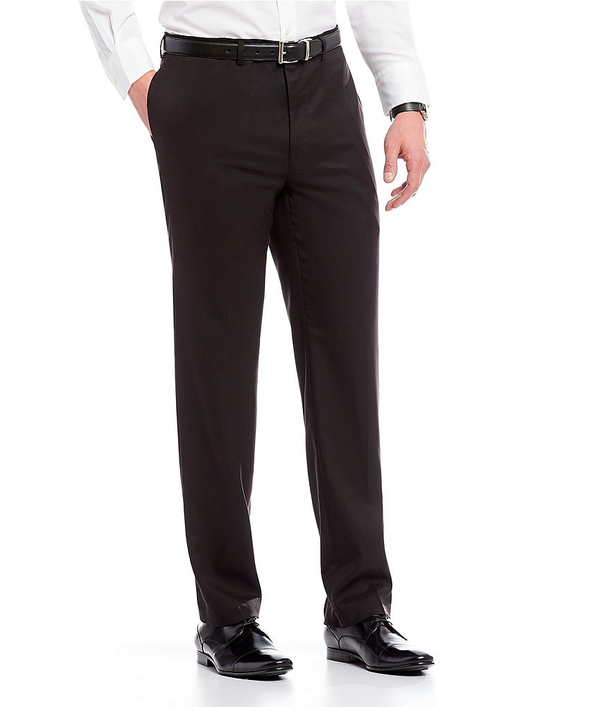 Ralph Ralph Lauren Slim Fit Flat-Front Dress Pants