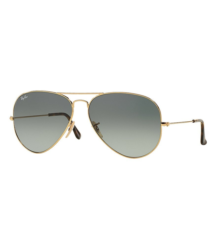 Ray-Ban Classic Aviator UVA/UVB Protection Flash Lens Sunglasses