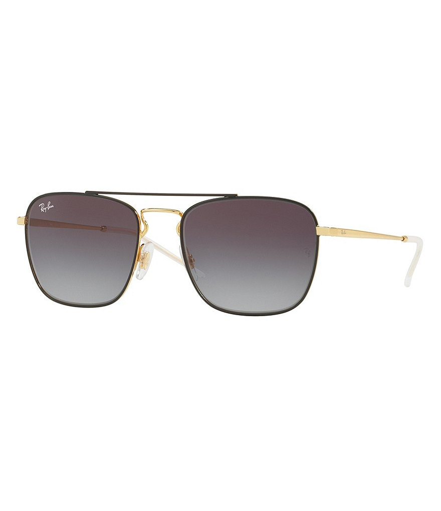 Ray-Ban Double-Bridge Square Gradient Sunglasses