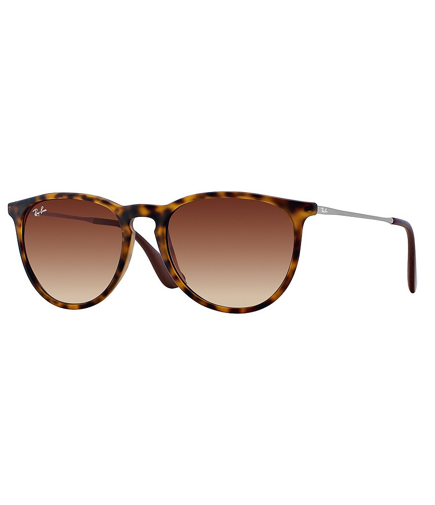 Ray-Ban Erika Round Oversized Sunglasses