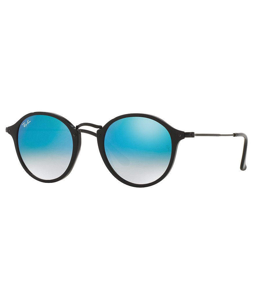 Ray-Ban Mirrored Ombré Round Sunglasses