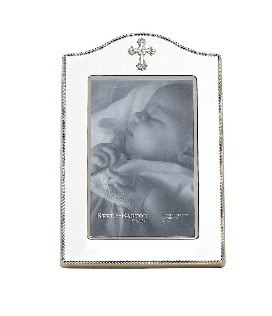 Reed & Barton Abbey Cross Picture Frame