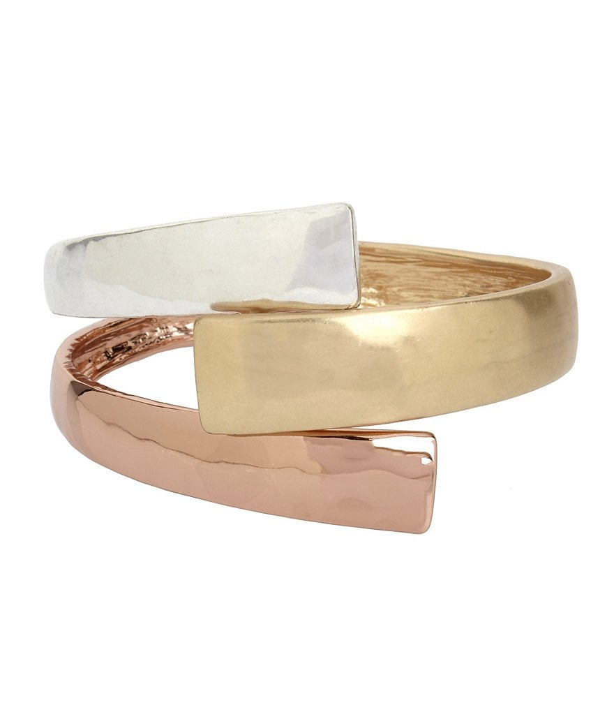 Robert Lee Morris Soho Bypass Bangle Bracelet