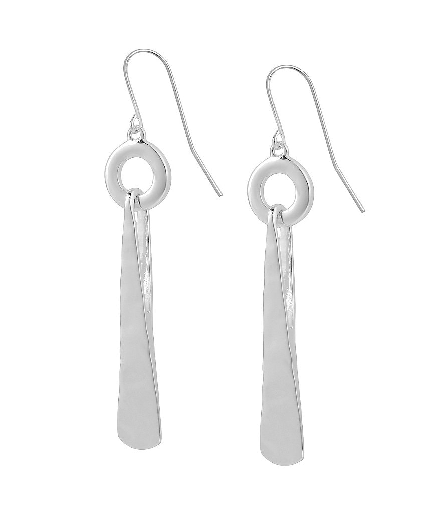 Robert Lee Morris Soho Circle & Triangle Drop Earrings