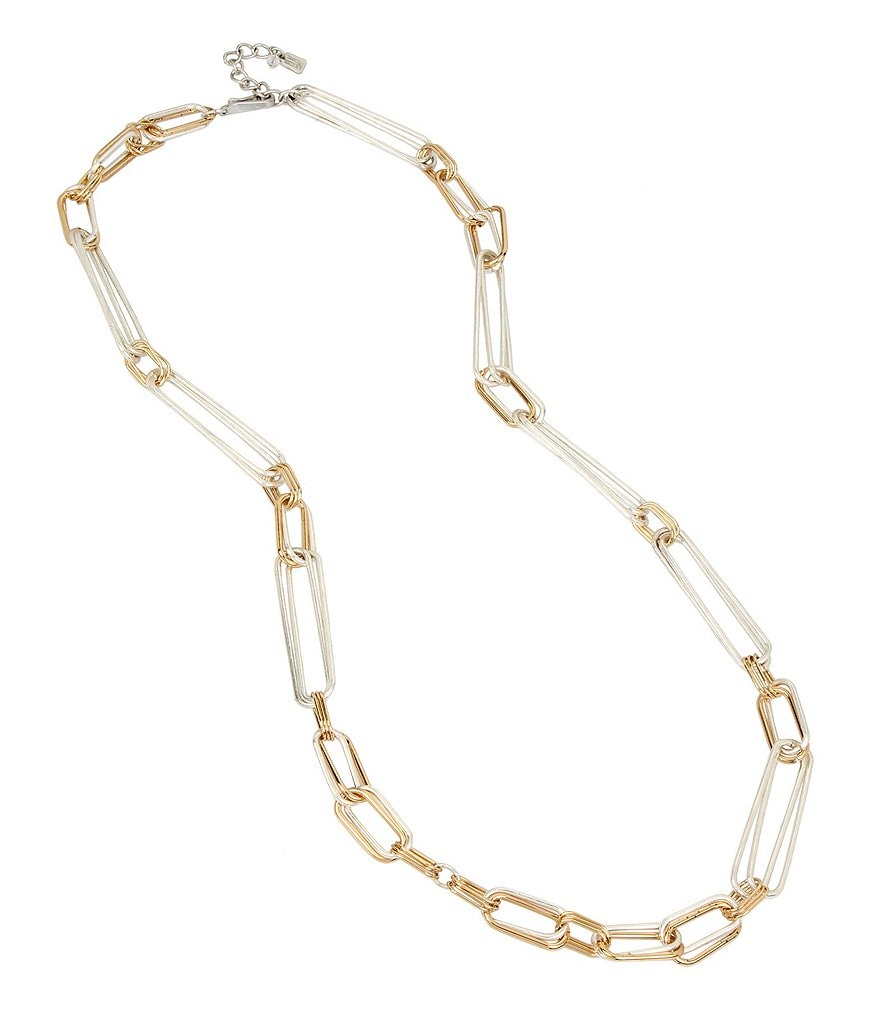 Robert Lee Morris Soho Link Long Necklace