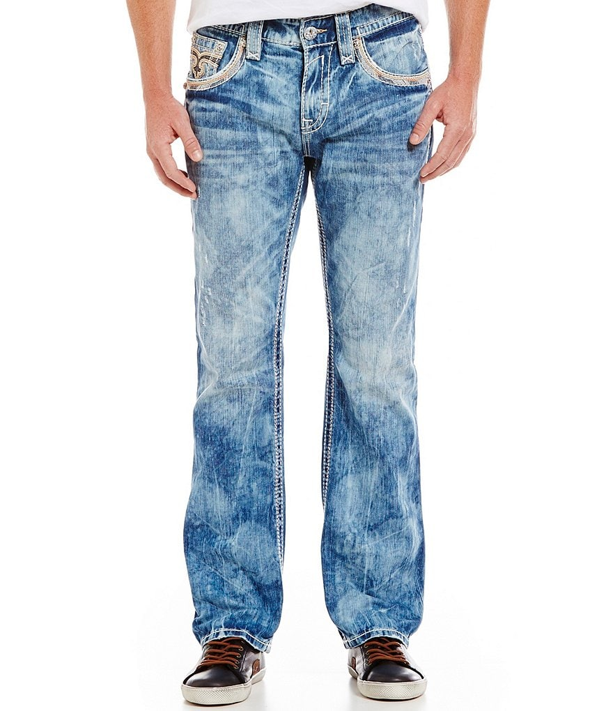 Rock Revival Willis J204 Straight Fit Jeans