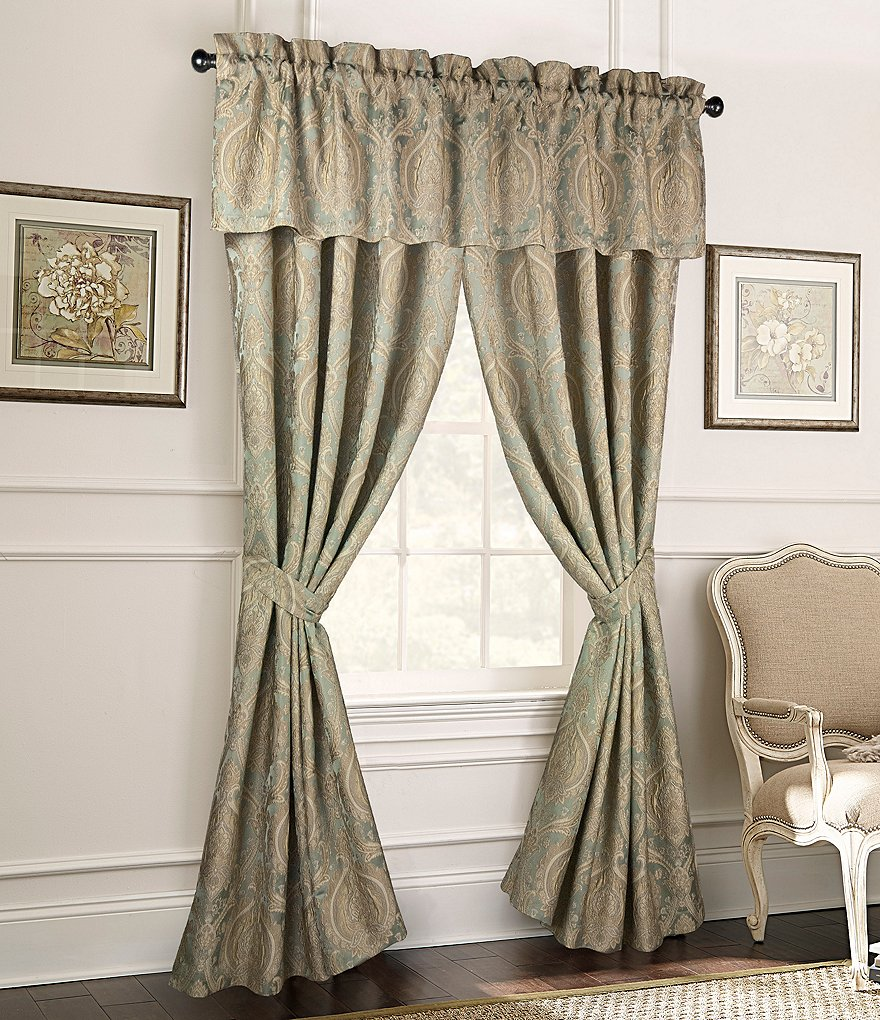 Rose Tree Norwich Damask Medallion Jacquard Window Treatments