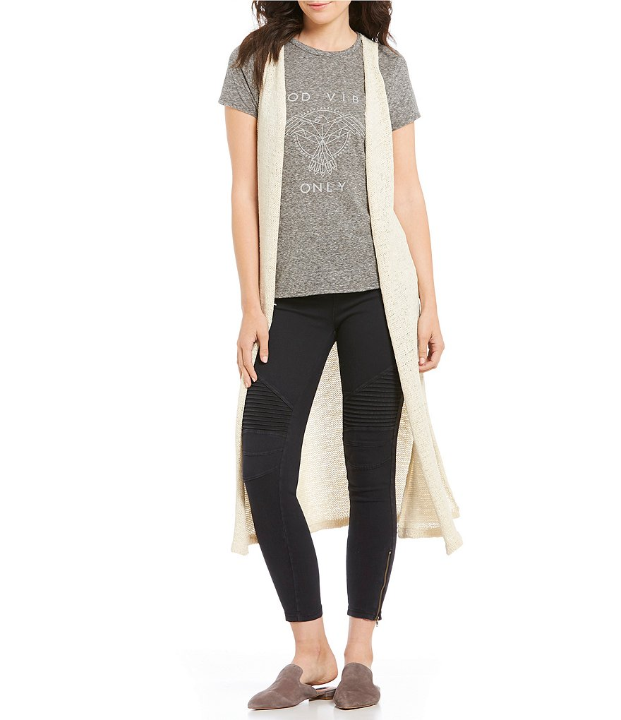Rossmore by PPLA Thorn Sleeveless Knit Duster