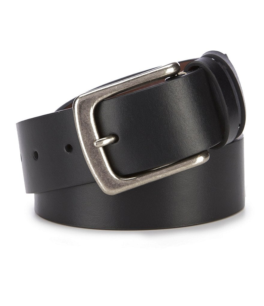 Roundtree & Yorke Big & Tall Rodgers Leather Belt