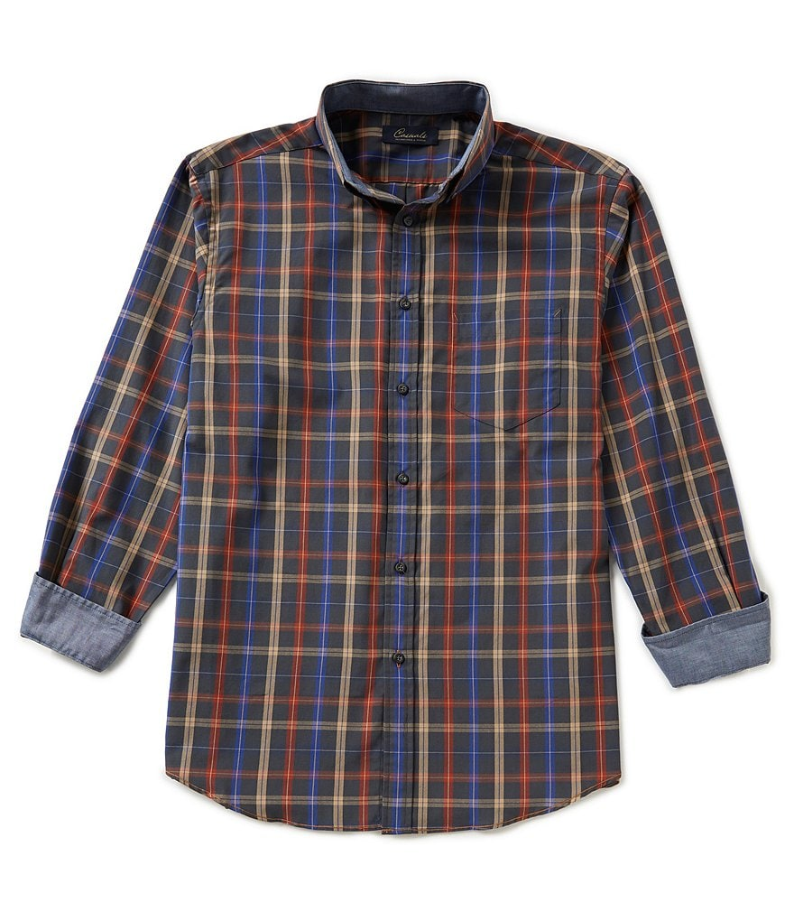 Roundtree & Yorke Casuals Checked Sportshirt
