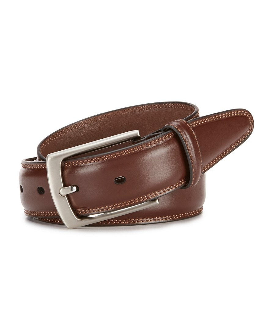 Roundtree & Yorke Jim Leather Belt