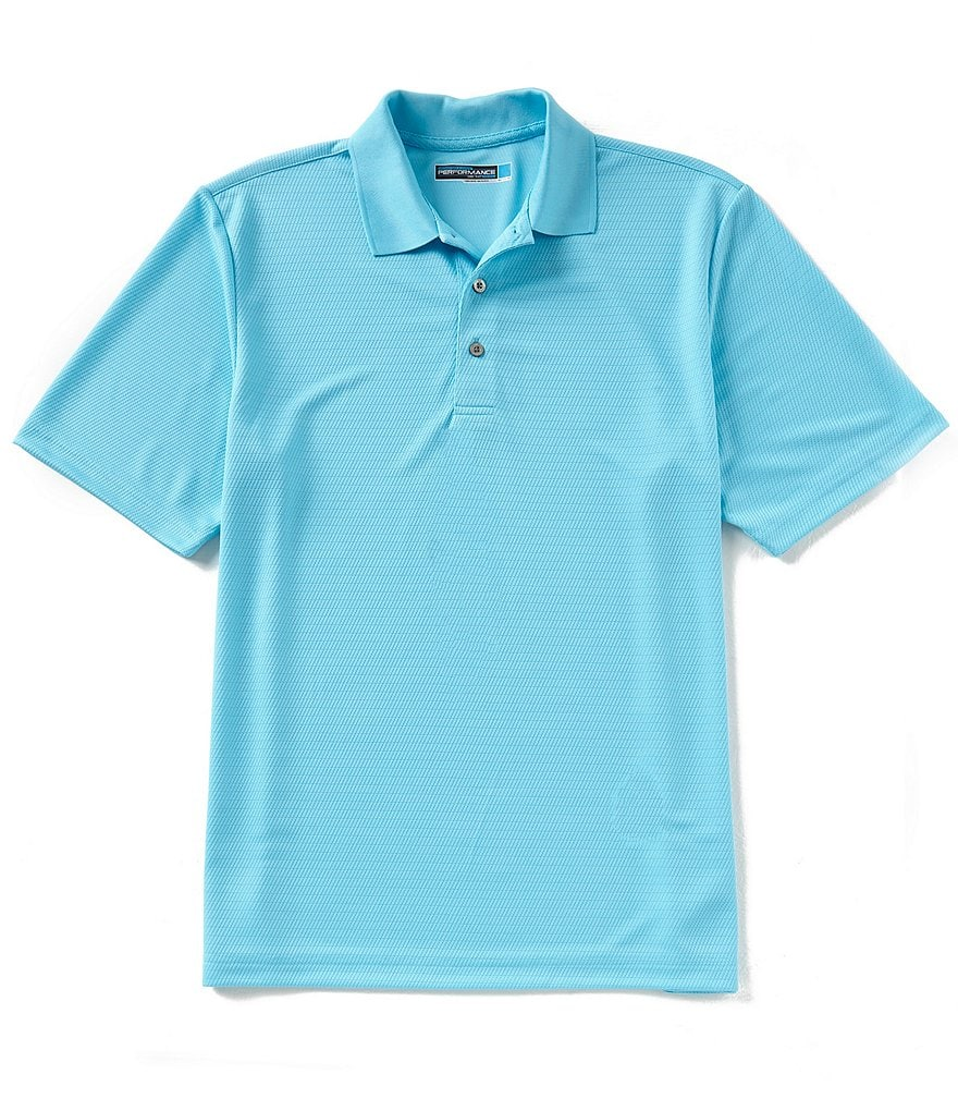 Roundtree & Yorke Performance Short-Sleeve Solid InnoFlex Polo