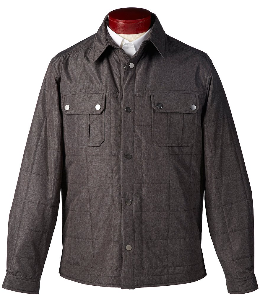 Roundtree & Yorke Quilted Shirt Jacket
