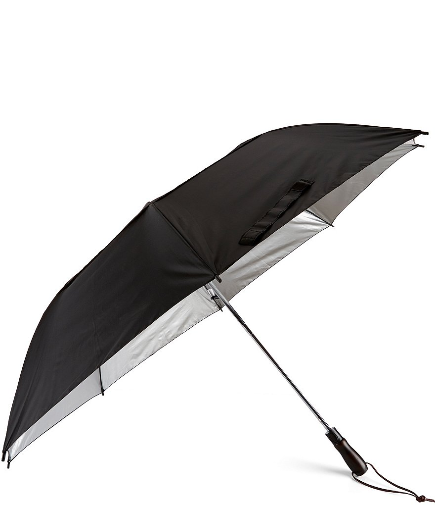 Roundtree & Yorke Vented Jumbo Canopy Umbrella with Sun Protection