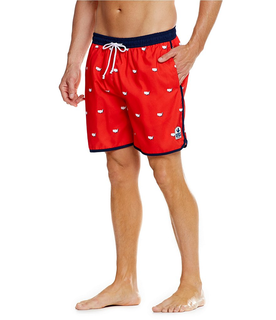 Rowdy Gentleman USA Swim Trunks