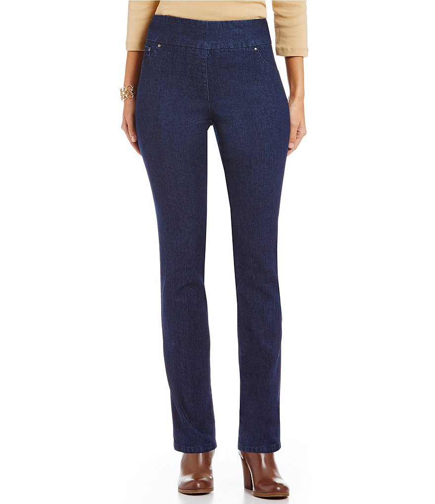 Ruby Rd. Pull-On Denim Jeans