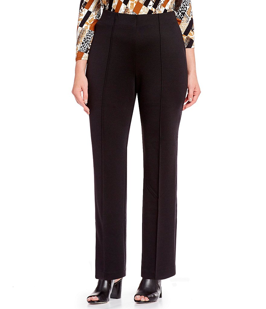 3a6c21c85c9 Ruby Rd. Plus Size Pull-On Stretch Ponte Pants