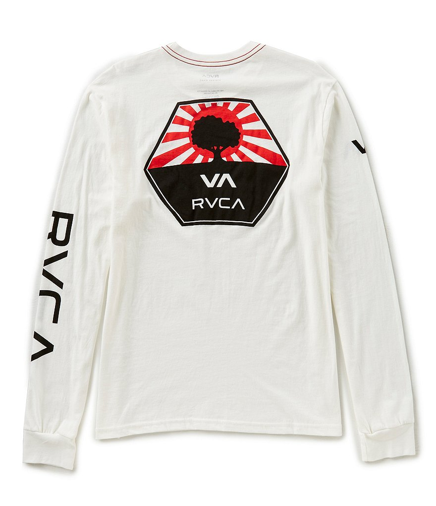 RVCA Bruce Irons Slim Fit Long-Sleeve T-Shirt