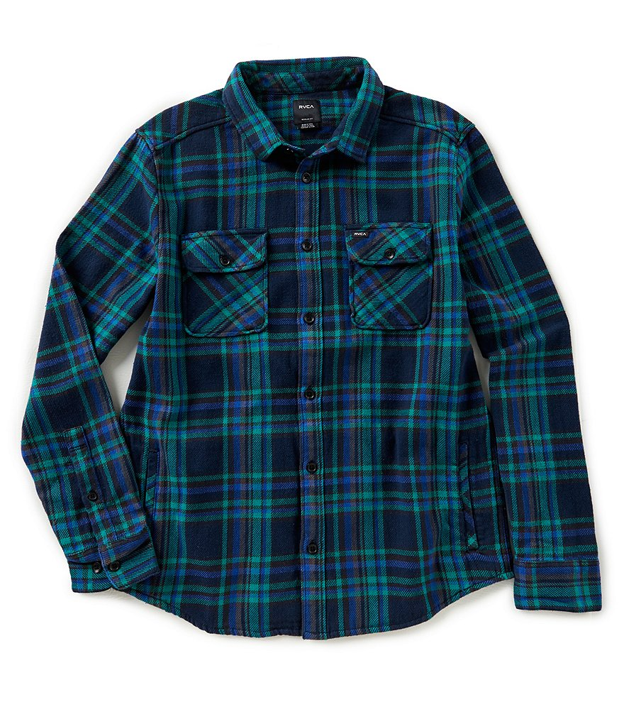 RVCA Camino Long-Sleeve Flannel Shirt