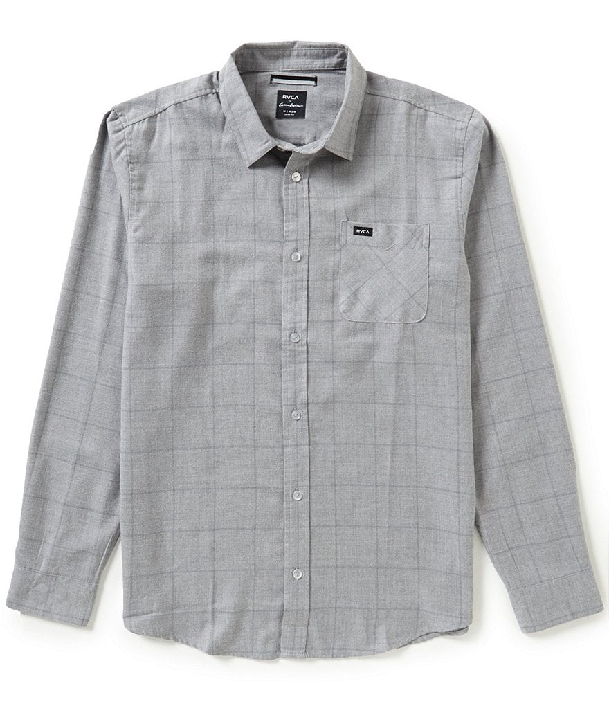 RVCA Curren Plaid Long-Sleeve Shirt
