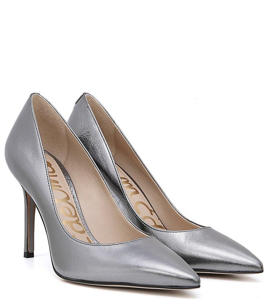 Men's/Women's Sam Edelman Edelman Edelman Hazel Metallic Distressed Leather Dress Pumps   Quality and Quantity Secured 479c8c
