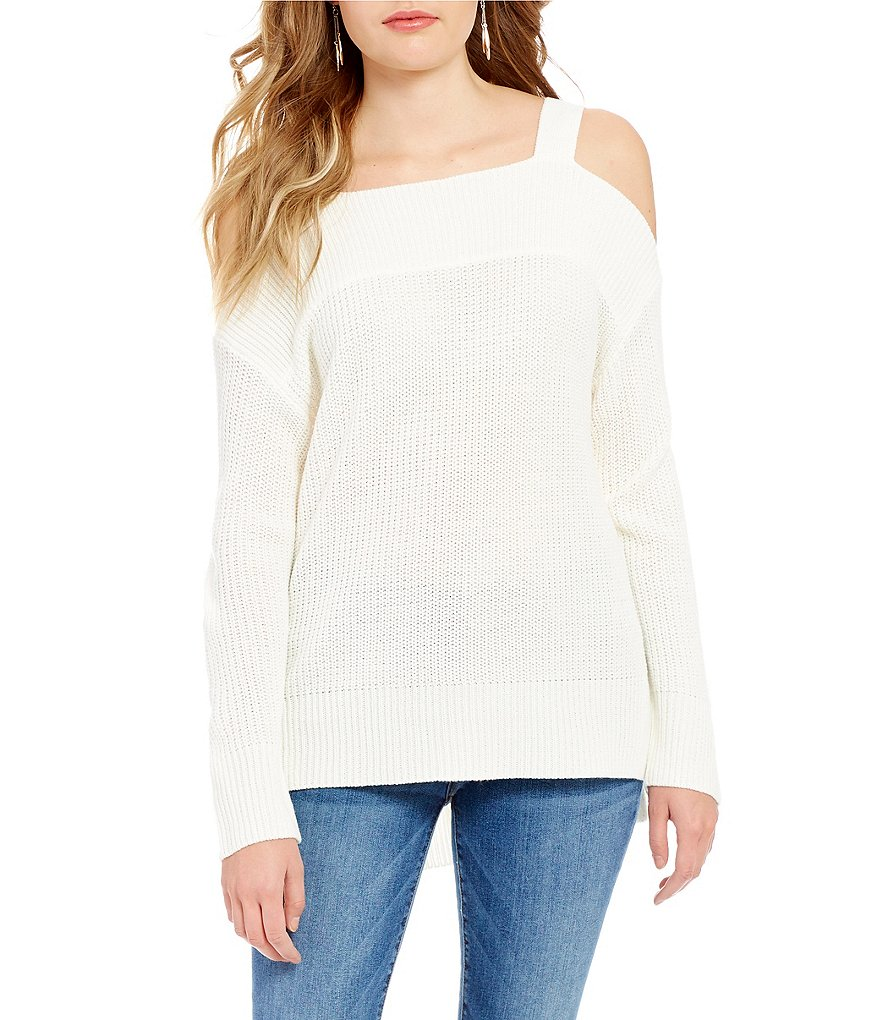 Sanctuary Amelia Cold-Shoulder Sweater