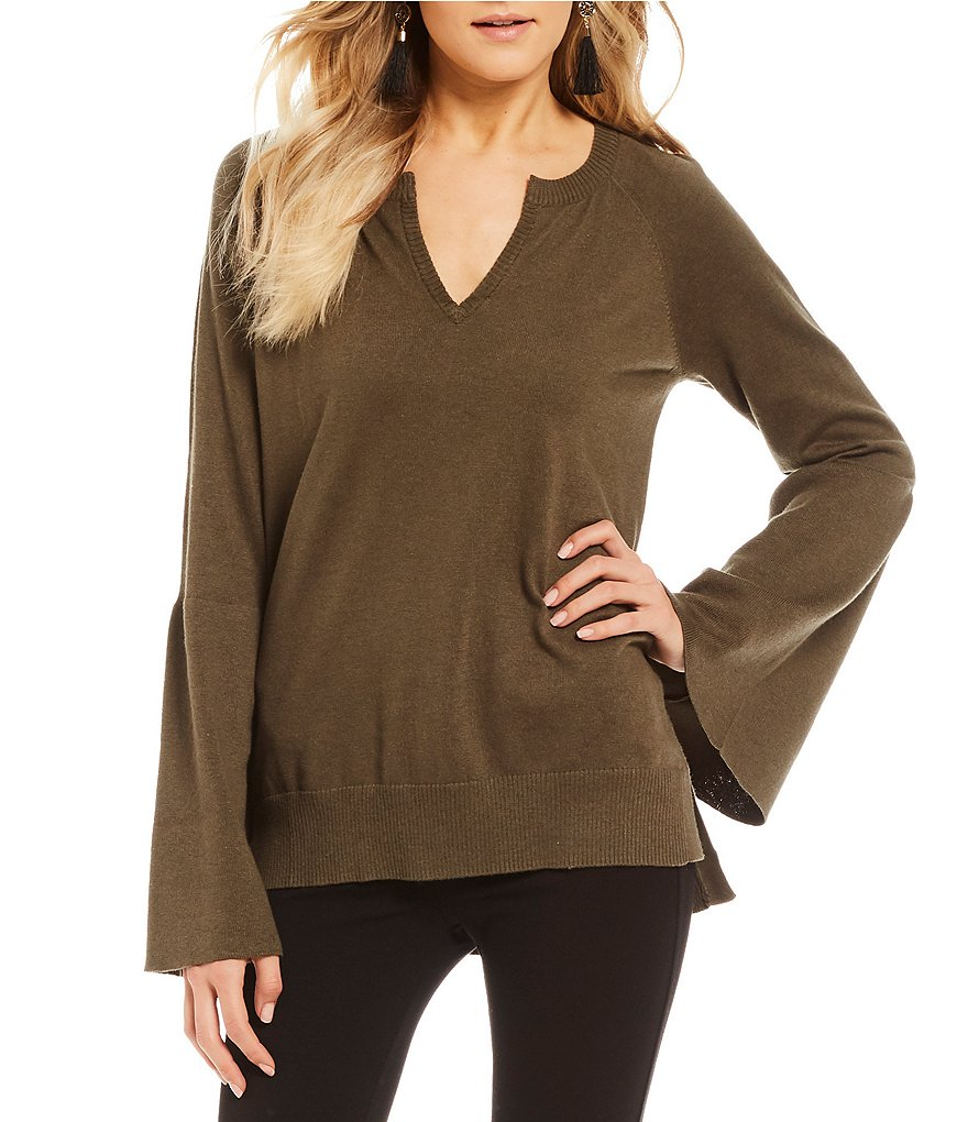 Sanctuary Olivia Bell Sleeve Sweater