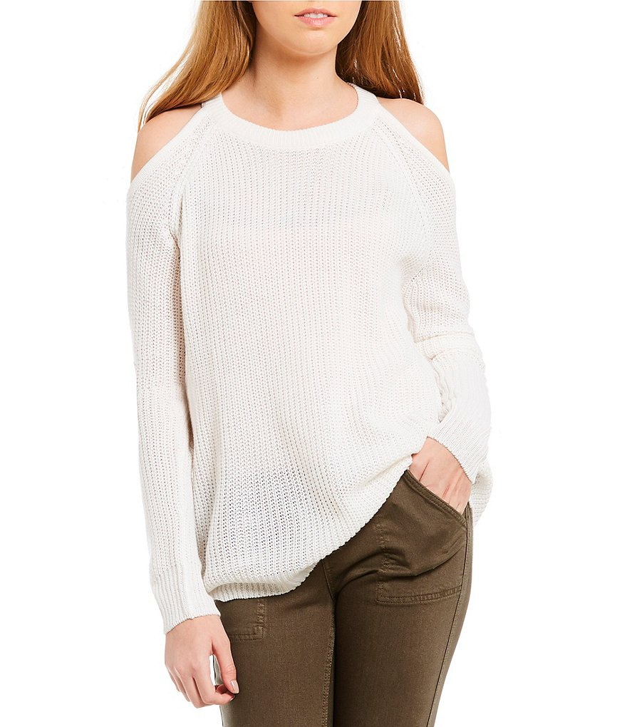 Sanctuary Riley Cold Shoulder Sweater