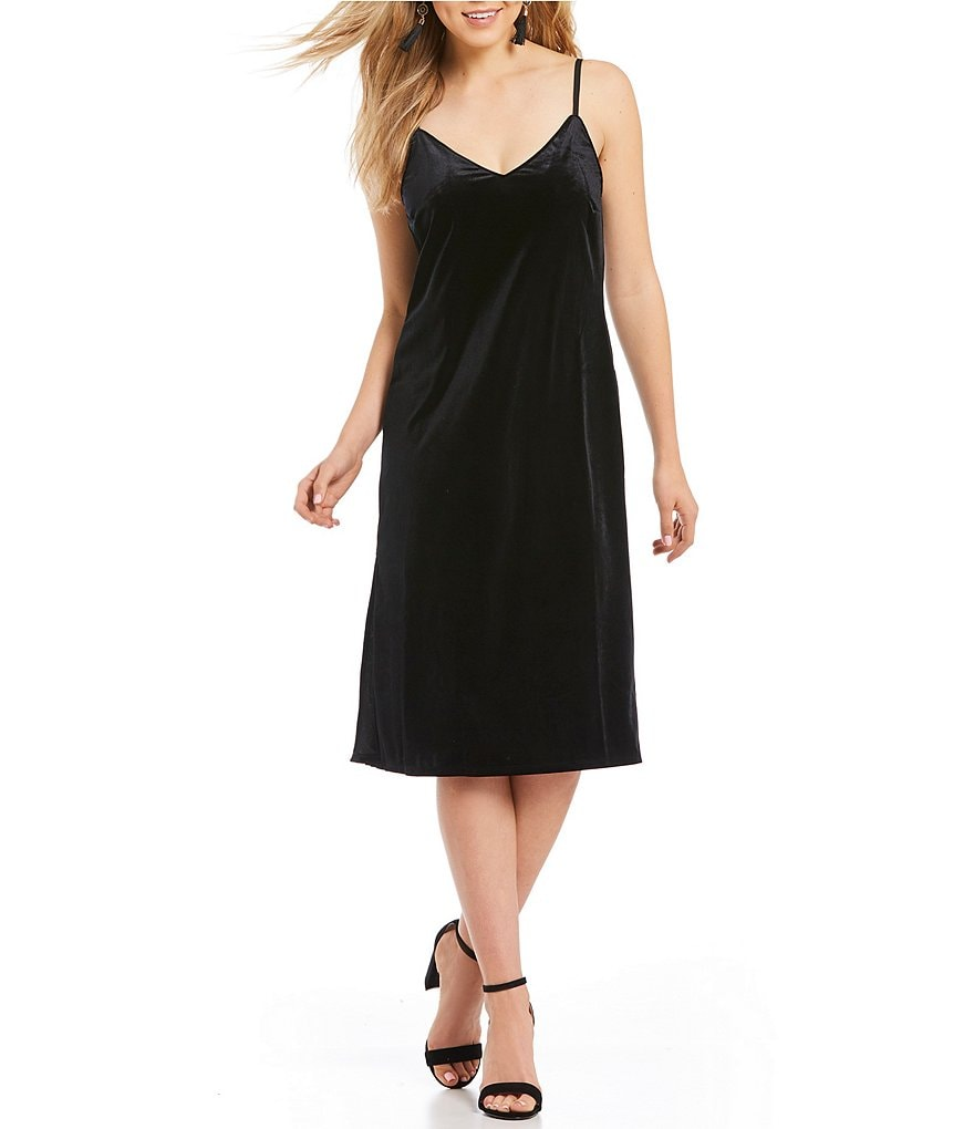 Sanctuary Sydney Velvet Slip Dress