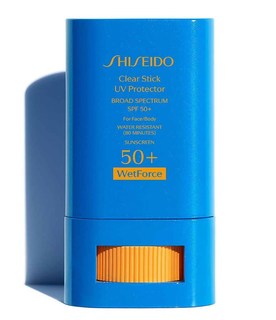 Shiseido Clear Stick UV Protector Broad Spectrum SPF 50+