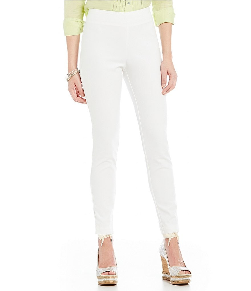 Sigrid Olsen Signature Stretch Sateen Ankle Pants
